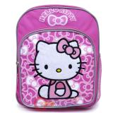 Sanrio Hello Kitty Toddler School Backpack 10in Bag Bows Pink