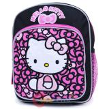 Sanrio Hello Kitty Toddler School Backpack 10in Bag Bows Black