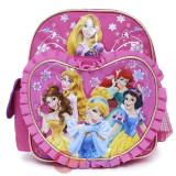 "Disney Princess Toddler School Backpack Floral  10"" Mini Bag"
