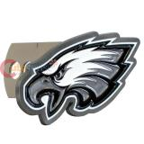 NFL Philadelphia Eagles Metal Logo Trailer Truck Hitch Cover