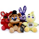 Five Nights at Freddys Plush Doll Set of 4