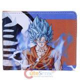 Dragonball Z Super Saiyan Blue Bi-Fold Wallet Logo