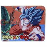 Dragonball Z Super Saiyan Blue Bi-Fold Wallet Dragon