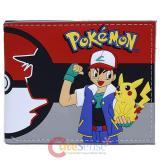 Pokemon Bi Fold Wallet Ash Pikachu