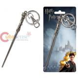 Harry Potter Harrys Wand Key Chain Pewter Metal