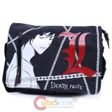 Death Note L Canvas Messenger Bag Body Cross Bag