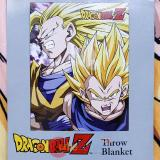 Dragon Ball Z HD Throw Blanket Goku VS Vegeta Sub