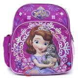 "Disney Sofia The First School Backpack 10"" Toddler Bag"