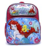"Disney Little Mermaid Ariel  School Backpack 12"" Medium Bag- Adventure"