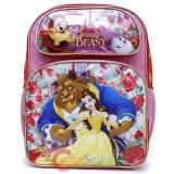 Disney Princess Beauty and the Beast Large School Backpack Belle Book Bag