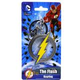DC Comics The flash Key Chain Pewter 3D Logo Metal