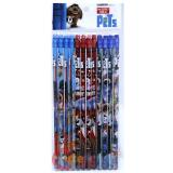 The Secret Life of Pets Pencil Set 12pc