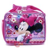 Disney Minnie Mouse School Insulated Lunch Bag -Glittering Pink