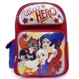 "DC Super Hero Girls Large School Backpack 16"" Bag -Bat Girl Wonder Woman Super Girl"