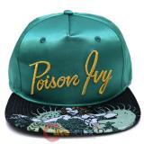 Dc Comics Poison Ivy Satin Snapback Hat