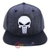 Marvel Punisher Heather Snapback Hat