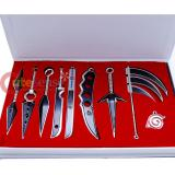 Naruto Sword Weapon Collectors Set 9pc