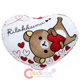 San X Rilakkuma Heart Rose Pillow Cushion