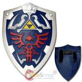 Link Hylian Zelda Shield with Grip & Handle