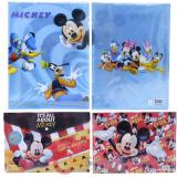Mickey Mouse & Friends 2 PC  File Jacket /  Clear  Folder Set