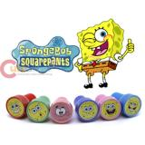 Nick Spongebob Self-Ink Stamps Set for 6