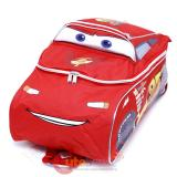 "Disney Cars Mcqueen Large School Backpack 3D Shape 16"" Bag"