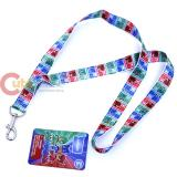 PJ Masks Lanyard  Key Chian ID holder
