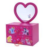 My Little Pony Wooden Jewelry Box Mirror Storage