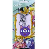 Sailormoon Luna Face Metal Key Chain