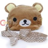 San X Rilakkuma Face Plush Wallet