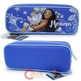 Disney Moana Pencil Case Zippered Bag Blue