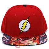 DC Comic Flash Sub Sanpback Hat Trucker Flat Bill Cap