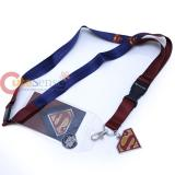 DC Comic Superman Suit Up Lanyard , ID Holder with Metal Emblem