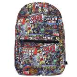 Marvel Luke Cage Sublimated All Over Prints School Backpack