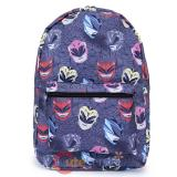 Power Rangers Sublimated All Over Prints School Backpack