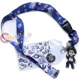 Crunchy Roll Re: Zero All Over Print Lanyard ID Holder