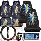 Tinker Bell Car Seat Covers Accessories 11pc Set