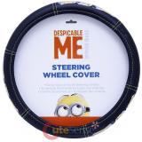 Despicable Me Minions Car Auto Steering Wheel Cover