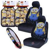 Despicable Me Minions Car Seat Covers Accessories 7pc Set