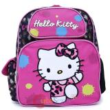 Sanrio Hello Kitty Small School Backpack 12in Bag Leopard