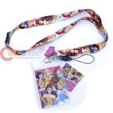 Disney Pirncess  Lanyard Key Chain ID Pocket