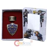 Legend of Zelda Ring and Hylian Shield Pin Set