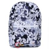 Disney Mickey Mouse Large School Backpack All Over Prints Bag -Mono
