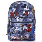 Disney Mickey Mouse Friends Large School Backpack All Over Prints Bag