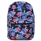 Lilo and Stitch AOP Large School Backpack Black Aloha
