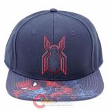 Marvel Spiderman Homecoming Snapback Flat Bill Cap , Hat