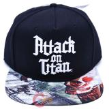 Attack on Titan Sublimated Snapback Trucker Flat Bill Cap