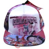 Marvel Gwenpool Snapback Flat Bill Cap , Hat
