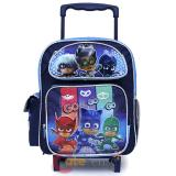 "PJ Masks School Roller Backpack 12"" Toddler Small Bag"