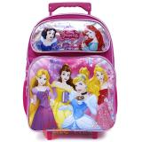 "Disney Princess Large School Rolling  Backpack 16"" Roller Bag"